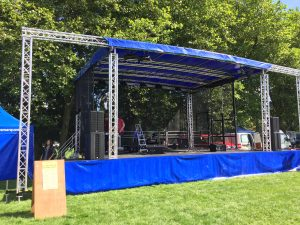 DJ Gear Hire - Outdoor Stage