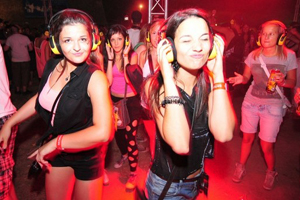 Silent Disco photography