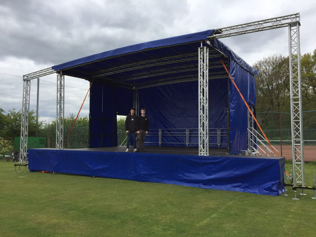 Hire Outdoor Stage